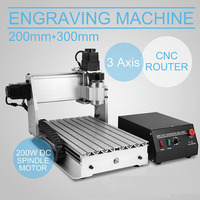 CNC 3020 Rouer Engraver Drilling/milling Engraving Machine Wood / PCB 3 Axis Router Desktop Router Machine