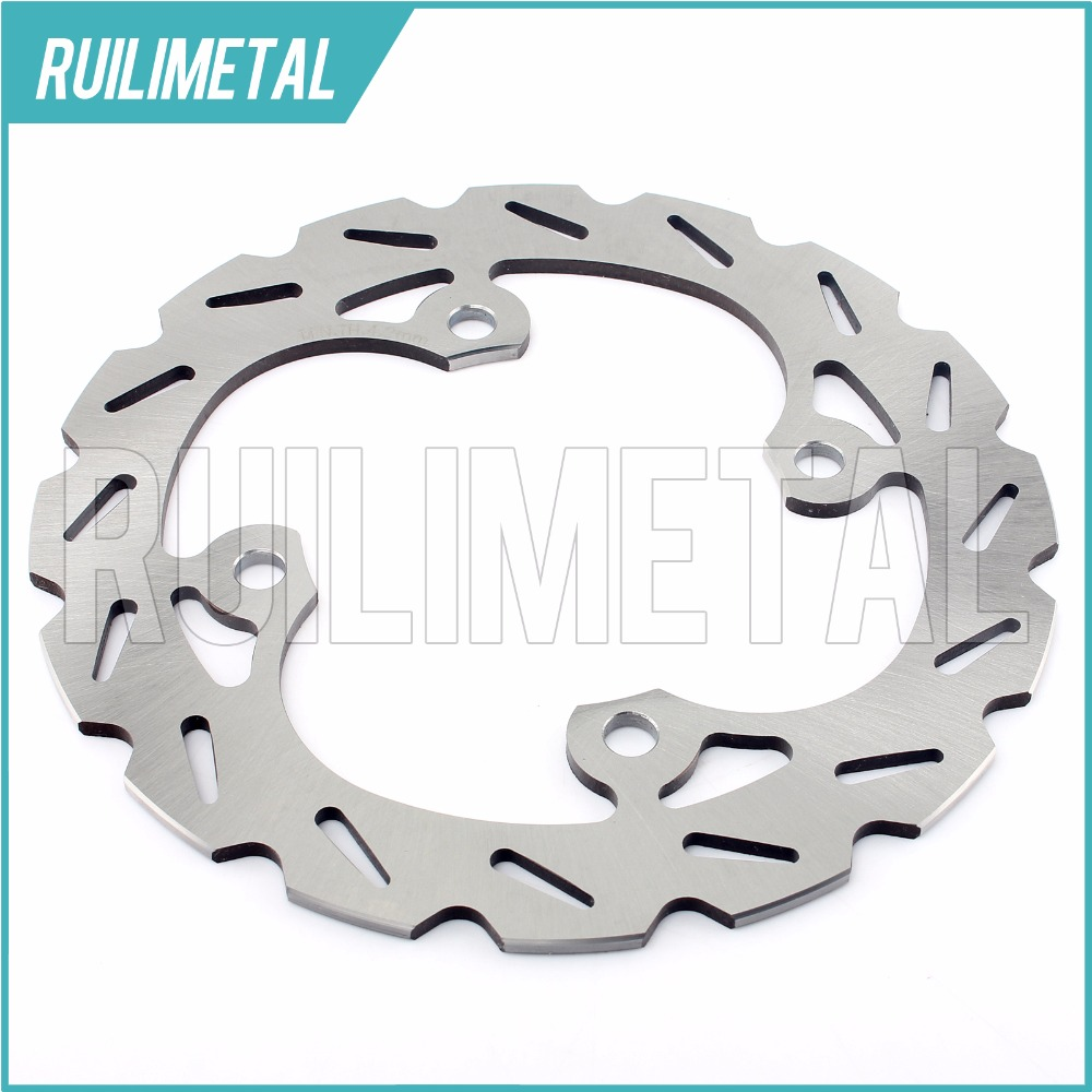 Rear Brake Disc Rotor for POLARIS 700 800 Sportsman EFI X 2  Intl HO Touring Big Boss 6x6 09 10 11 12 13 14 ATV QUAD atv quad front brake disc rotor for polaris 500 sportsman efi quad h o 600 4x4 700 mv x 2 800 ntl ho touring big boss 6x6