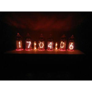 Image 4 - DIY without tube former Soviet Union IN 14 glow clock electronic tube clock circuit board