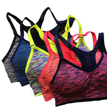 Women Fitness Bra For shaping Body Shaper Adjustable Spaghetti Straps Padded Top Seamless Top Vest S M L