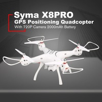 SYMA X8PRO gps Дрон WI FI с видом от первого лица 720 P HD Камера Регулируемый Камера Дрон Квадрокоптер с 6 осями и функциями удержания высоты x8 pro RC Quadcopter