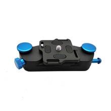 KOLIVAR Камера Захвата клип плоскогубцы зажим с пластиной с 1/4 винт штатива ремень крепление для DSLR камеры