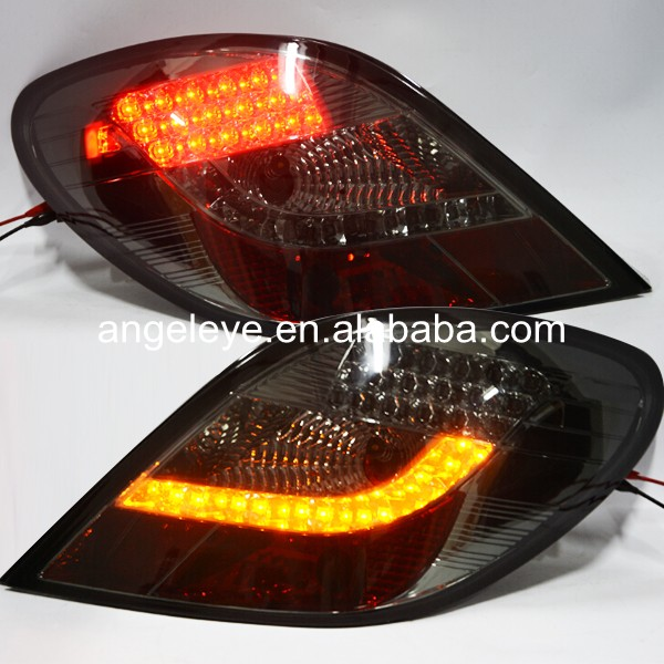 For Peugeot 207 LED Tail Lamp rearlights 2006-up year  Smoke Black Color SN