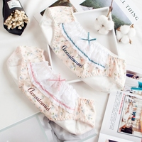 Spodnie czystej bawełny miesiączki z szczelne oddychające średniej talia bielizna stringi ciąg femme culotte femme