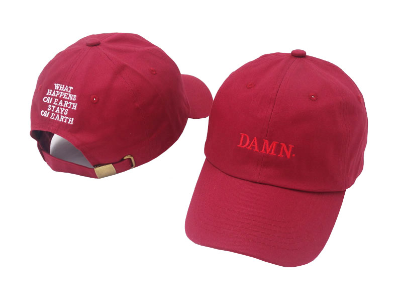 Summer Fashion Embroidery DAMN. Caps WHAT HAPPENS ON EARYH STAYS ON EARTH Adjustable Hip Hop Snapback Baseball Caps damn Hats what happens after what comes next