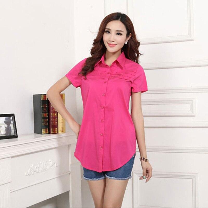 Women Summer Plus Size Blouse Short sleeve Shirt 2018 Women Clothing Fashion Ladies Shirts Woman Clothes Feminine Shirts 5xl 6xl