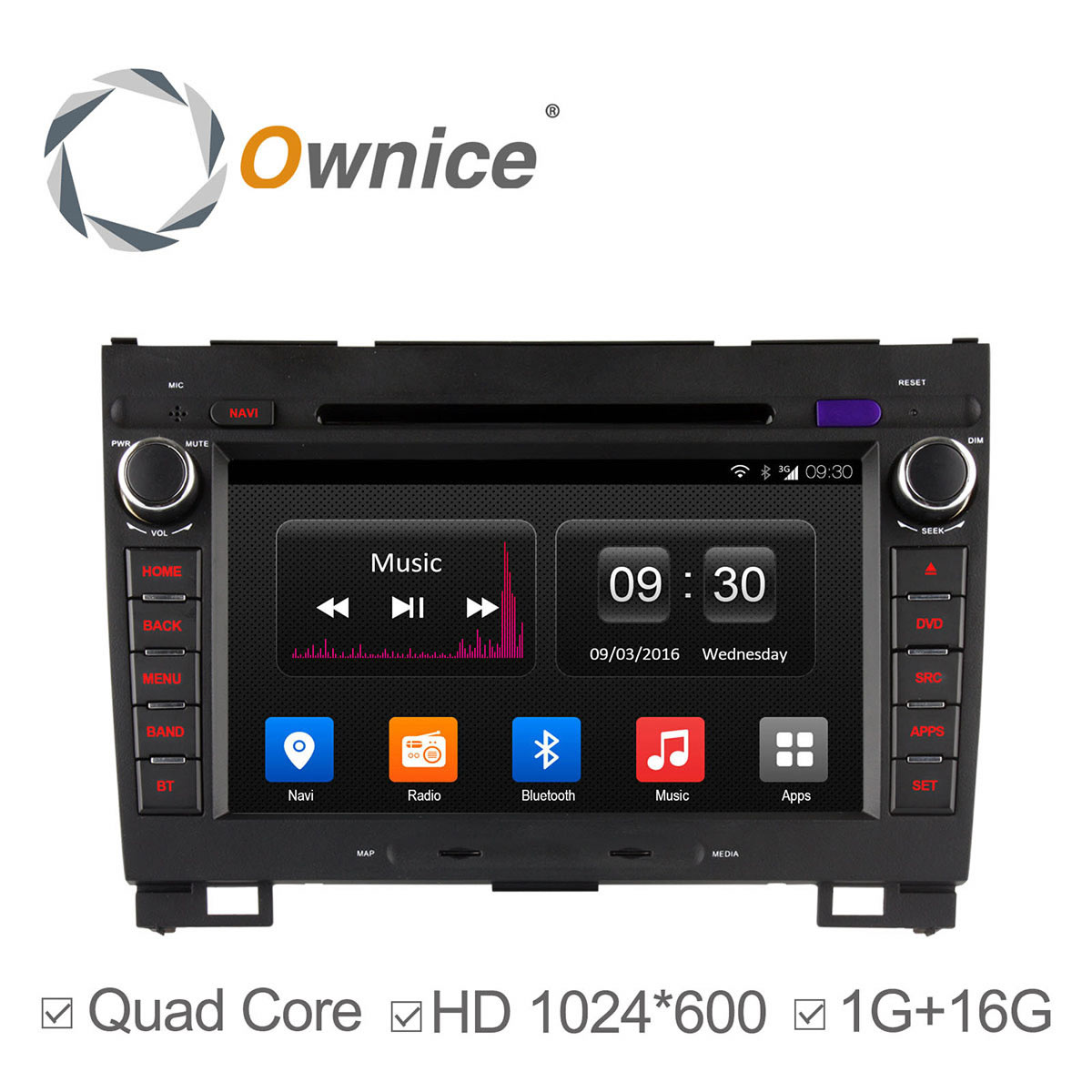 Ownice C300 Android4 4 4 core font b car b font dvd GPS for Greatwall hover