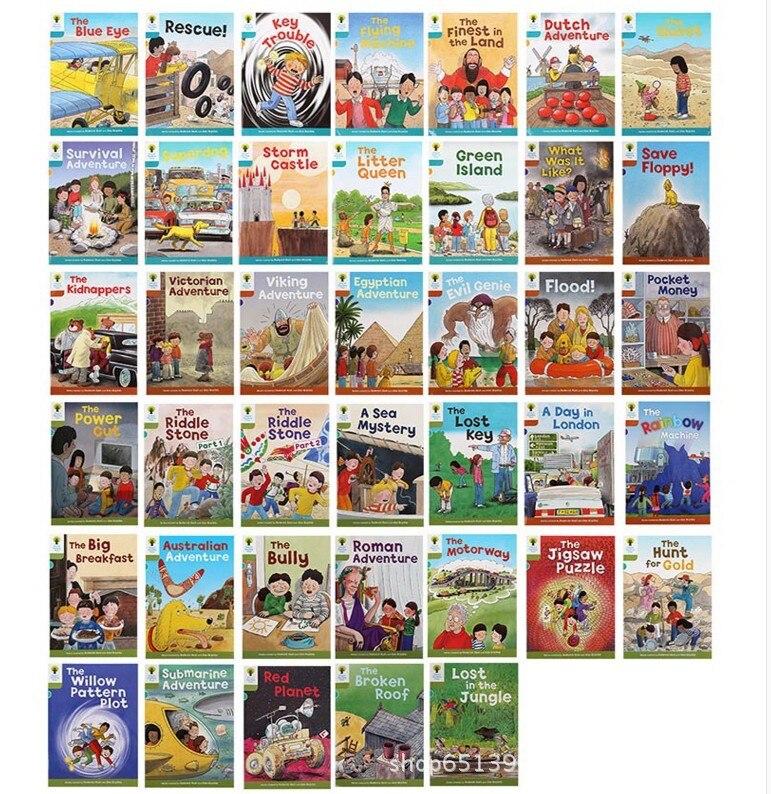 40 boeken 7 9 niveau Oxford lezen boom learing Helpen Kind te lezen Phonics Engels verhaal boek op  Groep 3
