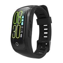 S908S цветной экран фитнес-трекер Смарт-браслет IP68 Водонепроницаемый gps монитор сердечного ритма спортивный браслет