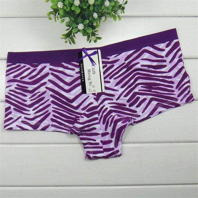 ad209363b Brand Women Boxers Underwear Cotton Sexy Panties Casual Female Boyshorts  Women Underwear Intimates Lingerie Free Shipping