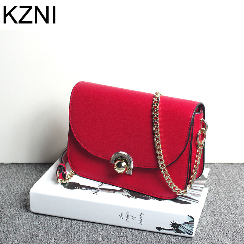 ФОТО KZNI genuine leather bags for women crossbody bags for women designer handbags high quality handbags bolsos mujer L112501
