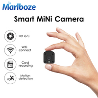 Marlboze WIFI IP Camera 720P HD PIR Motion Detection Night Vision Mini Camcorder TF Card Record Built in Battery Security Cam