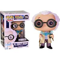 Exclusive Funko POP Official Movies: Back to The Future Dr. Emmett Brown Vinyl Action Figure Collectible Model Toy In Box