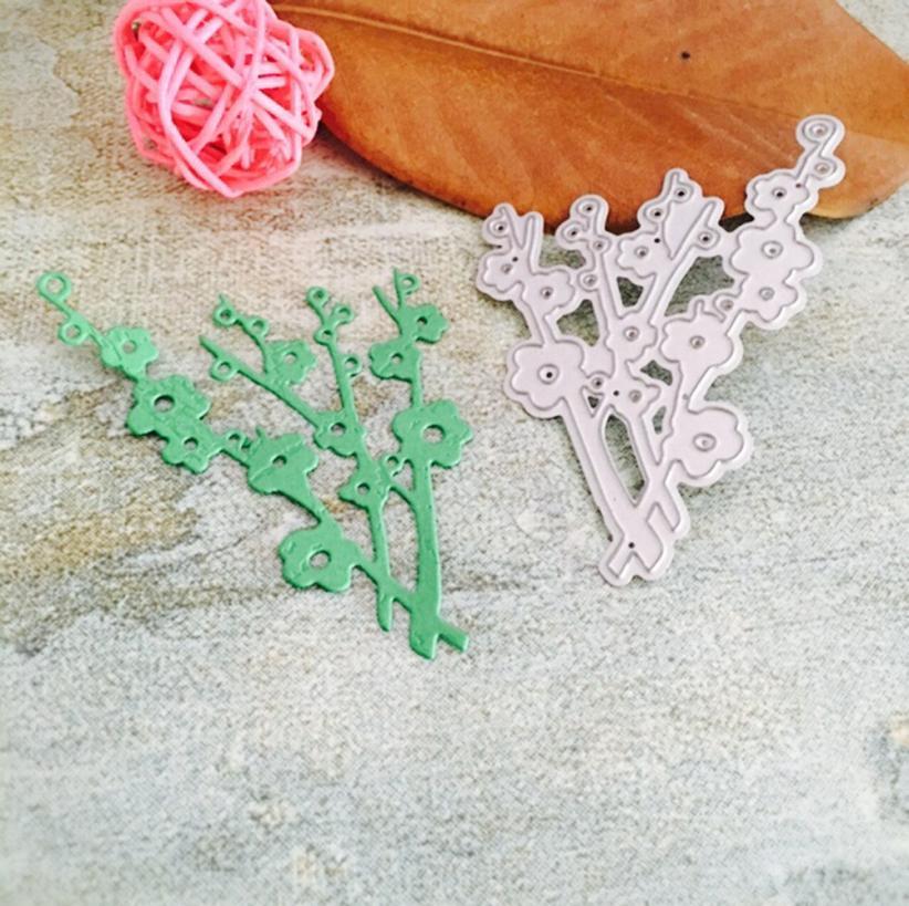 Cutting Dies My House Merry Christmas Flower Heart Metal Stencils Scrapbooking Paper Craft Dies DIY Decoration 17OCT18