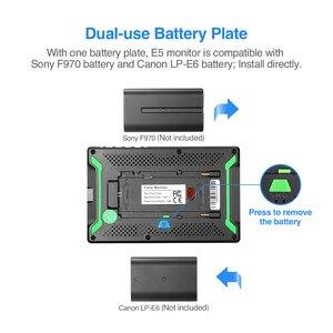 Image 3 - Eyoyo E5 5 インチ 4 HDMI デジタル一眼レフカメラモニター超高輝度 400cd/m2 フル Hd 1920 × 1080 液晶 IPS 屋外用