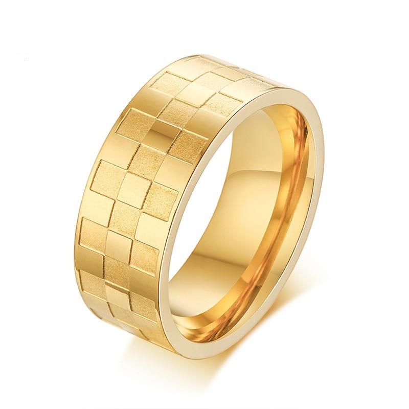 Купить кольцо из нержавеющей стали для мужчин и женщин ювелирное изделие