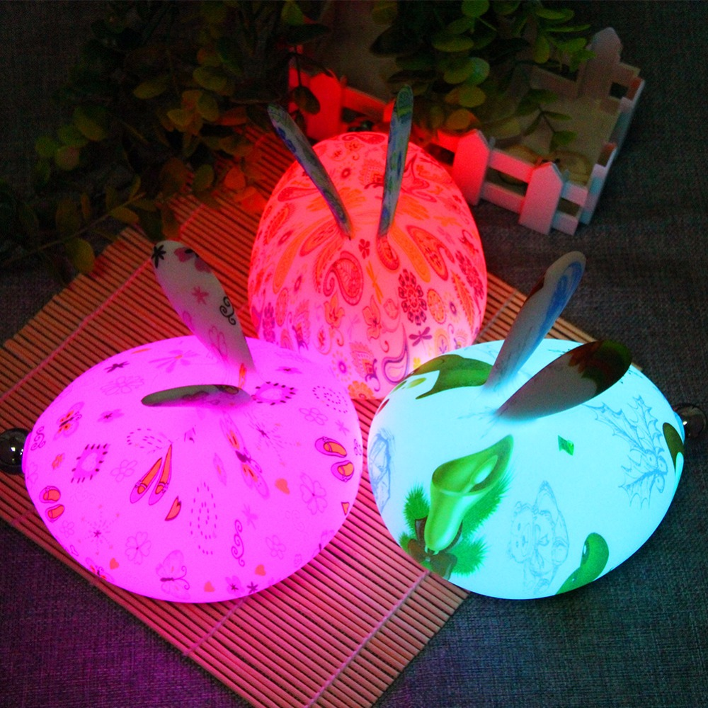 Lamps & Shades Mifxin Rabbit Led Night Light Dimmable For Children Baby Kids Gift Animal Cartoon Decorative Lamp Bedside Bedroom Living Room