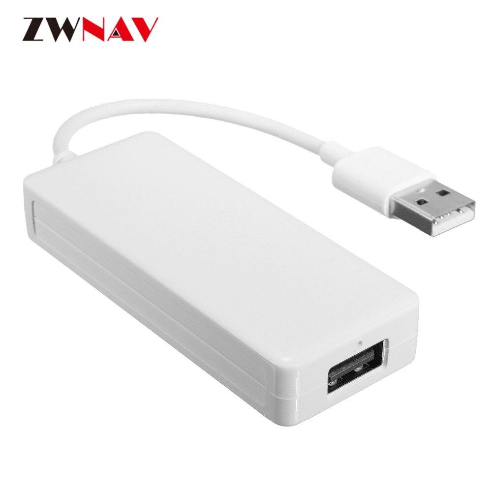 ZWNAV Carplay For Apple Android USB Dongle Carplay Car Navi Headunit USB DONGLE Auto with Touch Screen Control Plug and play