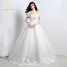 Свадебные платья с открытыми плечами bealegantom цвета слоновой