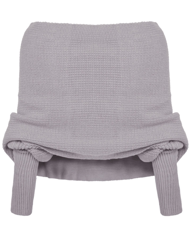 2017 New Hot Women Fashion Off Shoulder Loose Knitted Sweater Cape