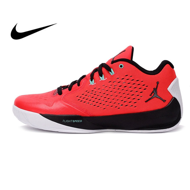 f1b3d3bab8e2 Original Authentic NIKE JORDAN LOW Breathable Summer Men s Basketball Shoes  Sneakers Red Shoes Men Sports Outdoor