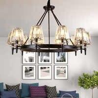 Moderne LED Decke Kronleuchter Beleuchtung Wohnzimmer Schlafzimmer Kronleuchter Kreative Hause Leuchten AC110V/220 V Freies Verschiffen