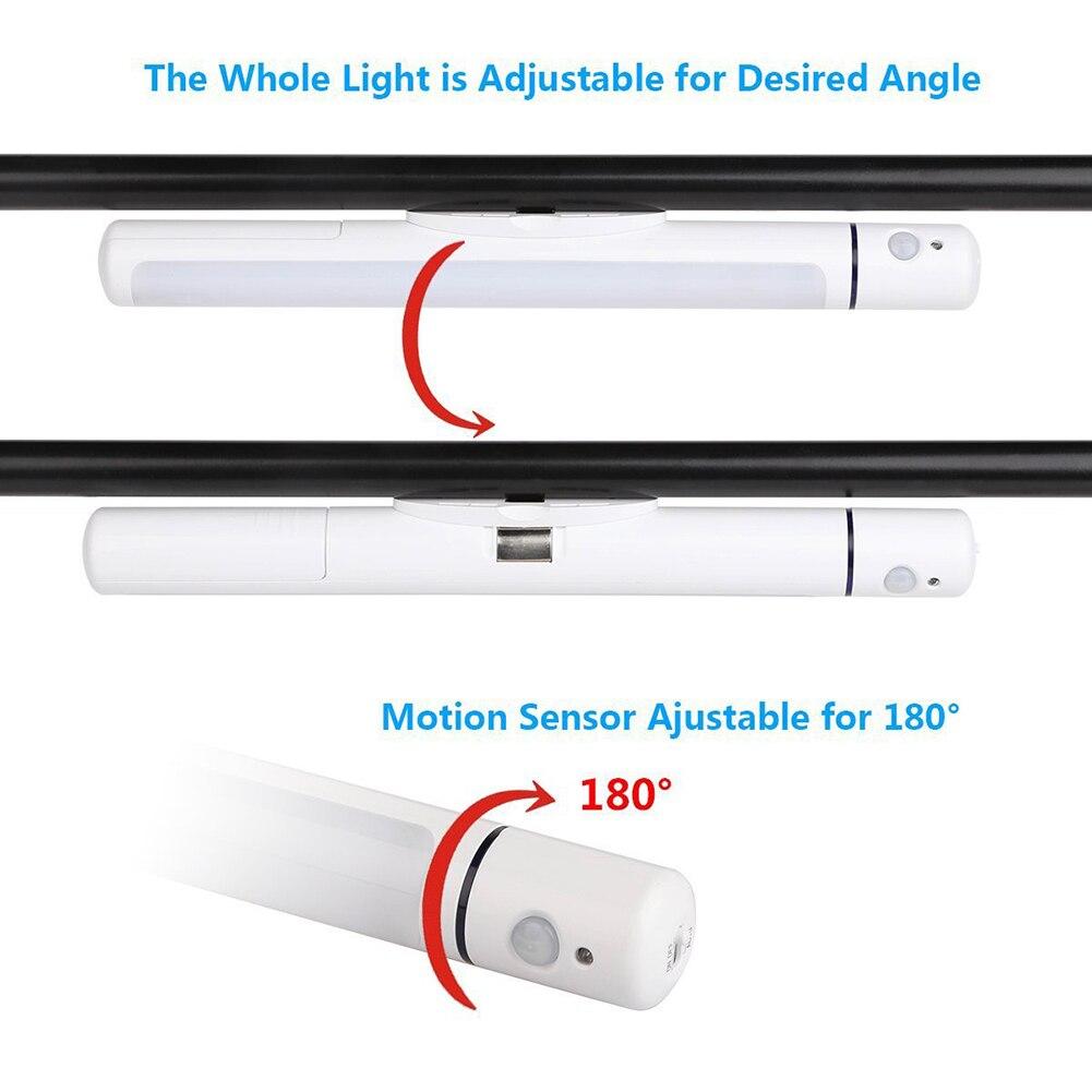 Magnetic Table Lamp on Magnet LED Motion Sensor Night Light Warm LightIng For Home Bedroom LED for Reading