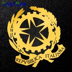3D nacional Italiano de Níquel Metal Emblema Adesivos Para Fiat Alfa Romeo Chrysler Jeep Rodeio Ferrari Maserati Itália decoração Decalque