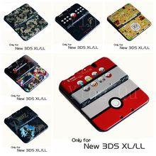 Matte Protector Cover Plaat Beschermhoes Behuizing Shell voor Nintendo Nieuwe 3DS LL voor Nieuwe 3DS XL Console Game Accessoires