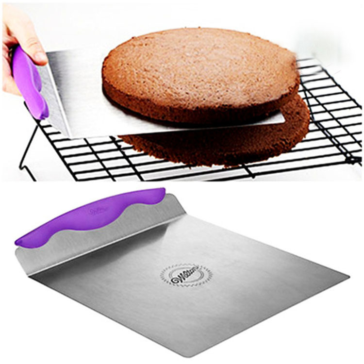 BEEMSK Baking Tools Cake Shovel TPR Cake Safety Transfer Mobile Cherry Cake Cake Support