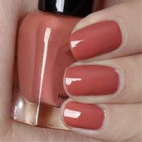 Reddish Brown Color Tasteless Can Tear High Quality Nail Polish 7ML