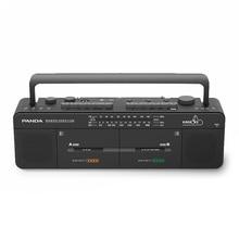 パンダF 539ダブル磁気テープ高ボリューム教師教室ティーチングマシン挿入カードに再読ラジオレコーダー