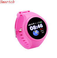 Smartch GPS WIFI LBS AGPS Tracking Children Old T88 Kids Smart Watch SOS Passometer G sensor Watch For Ios Android 1.22 Touch S
