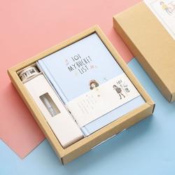 A5 notatnik Kawaii notes w twardej oprawie piśmienne Planner DIY Scrapbooking szkolny pamiętnik notatki chcą książki uczeń prezent