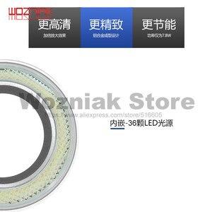 Image 4 - Wozniak SS 033C מיקרוסקופ אור מקור טבעת אור לבן מקור אור מקור אהיל מתג בקרת 110V 220V