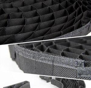 Image 5 - TRIOPO 55cm/65cm/90cm Honeycomb Grid für TRIOPO Faltbare Softbox Octagon Dach Weichen box fotografie studio zubehör