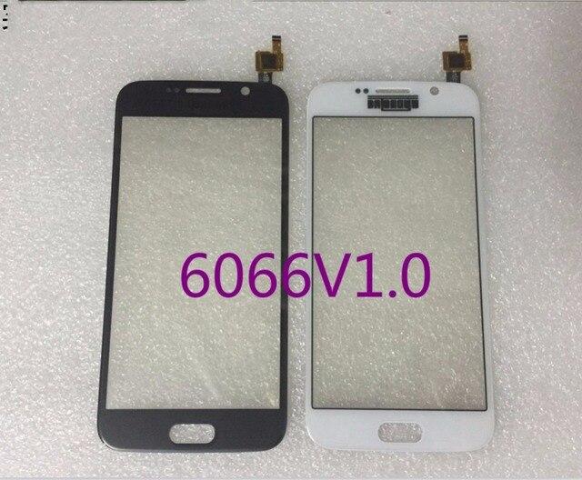 С Логотип Сенсорный экран Для Samsung S6 G9200 G9205 Емкостный дисплей Стеклянная Панель Датчик 6066-V1.0