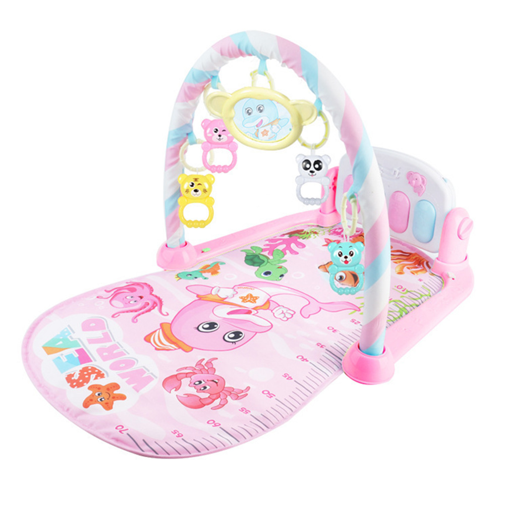 Baby Play Mat Kick Piano Keyboard Music Playing Projection Mat Infant Exercise Education Rack Carpet 998