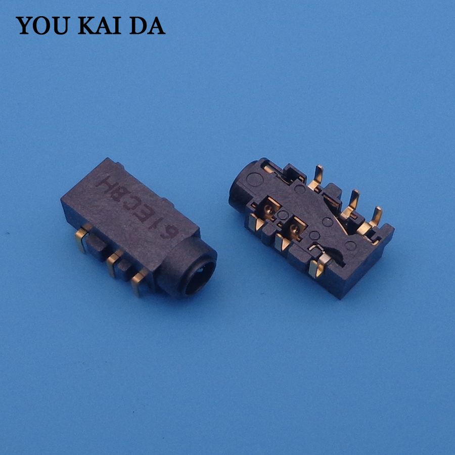 2x New Audio Headphone Microphone Jack Port Socket Connector For Asus N550 Q550 Q550LF N550J N550JA N550JV N550JK N550LF
