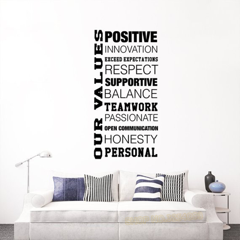 Us 4 98 25 Off Inspirational Quote Wall Decals Removable Vinyl Art Stickers Motivational Decal Nursery Office School Home Decor L892 In