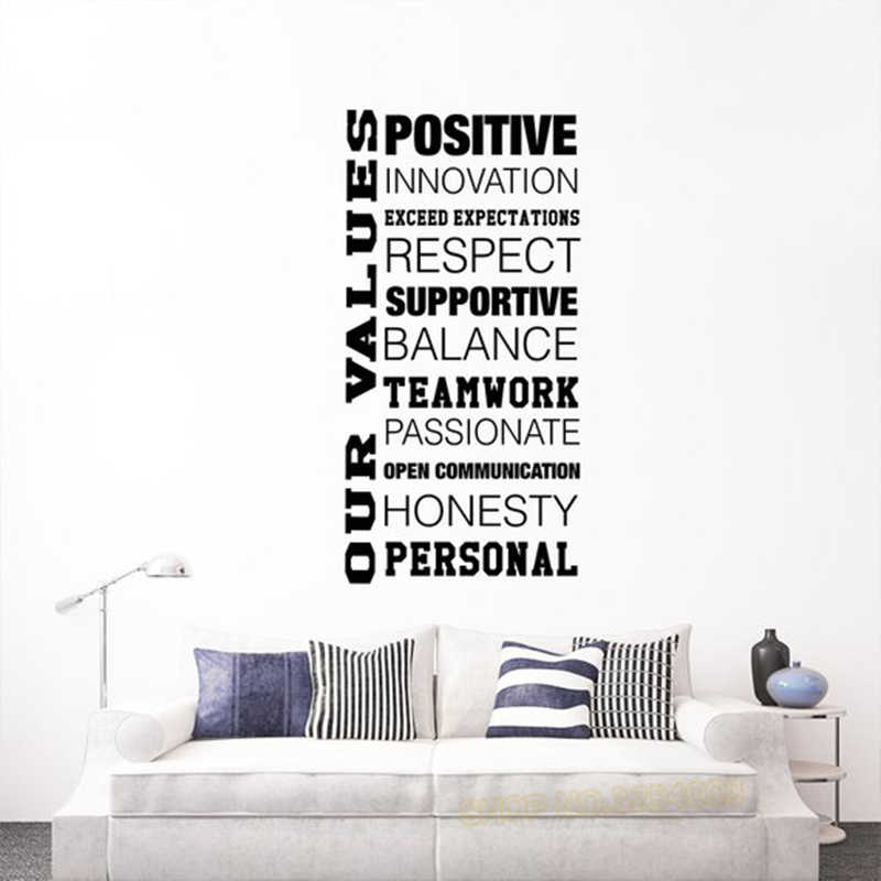 Be Unique Inspirational Quote Wall Sticker WS-19748