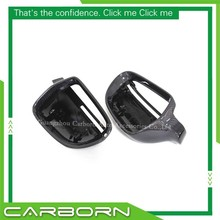 For Audi A4 B8 2008-2015, A5, A6, Q3 without Turn Light Signal Replacement Body Side Rear View Mirror Cover citall 2pcs rear view side mirror turn signal light for ford focus vw golf polo bmw e46 e90 kia rio audi a4 a6 nissan qashqai