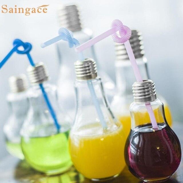 Летние лампы бутылки с водой краткое Симпатичные молоко сок Лампочки герметичность падение shipping3.15/20%