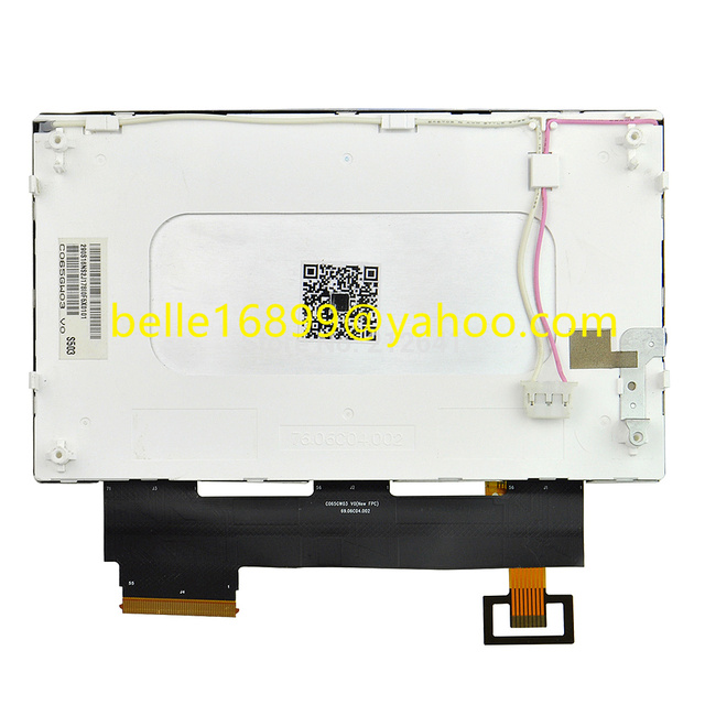 Darmowa wysyłka nowy C065GW03 V0 55 pin wyświetlacz LCD TPO 6.5 cal ekran + panel dotykowy dla Skooda VW RCD510 samochodu LCD digitizer