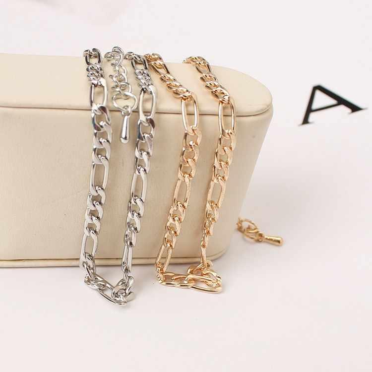 ヨーロッパとアメリカの貿易のファッションシンプルな野生のセクションの高品質金属チェーンと呼ばれる裸の女性アンクレットの宝石チェーン