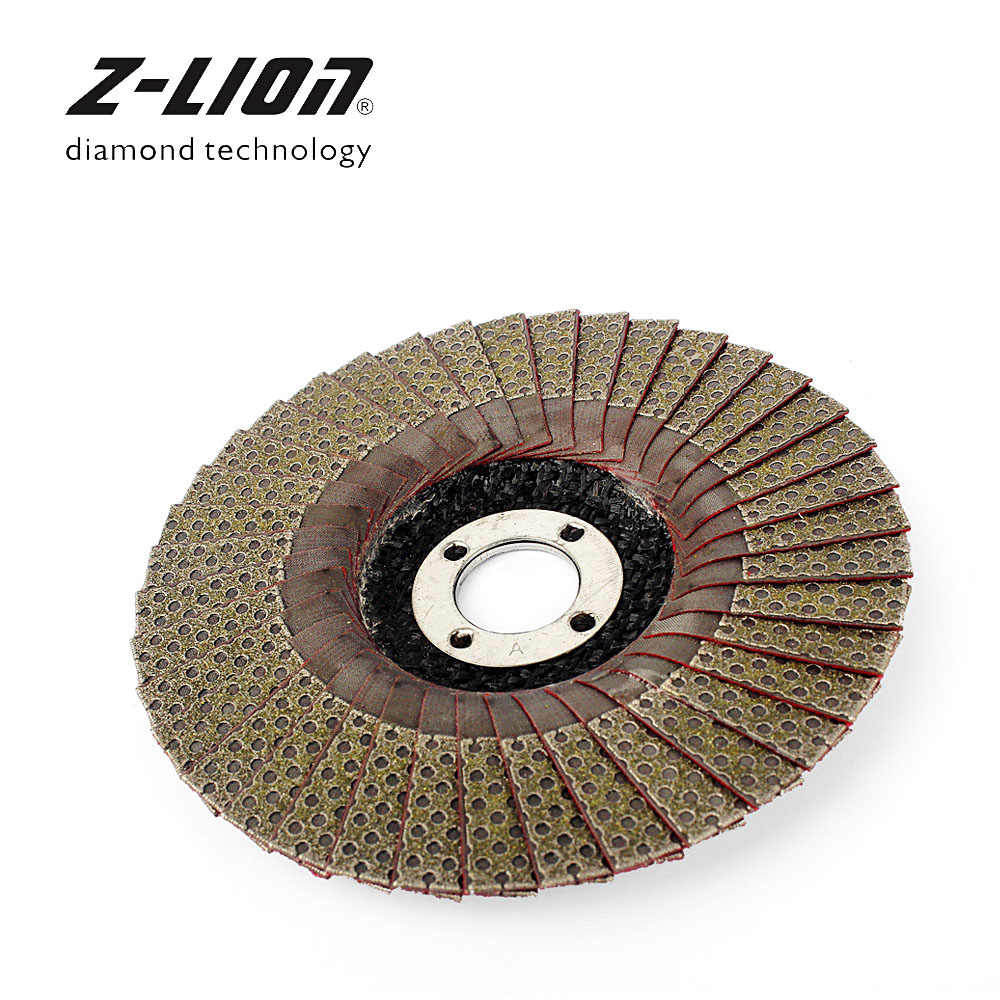 5 Pcs 4 Inch Marble Polishing Wheel Electric Grinder Sanding Disc 100MM 80 Grit