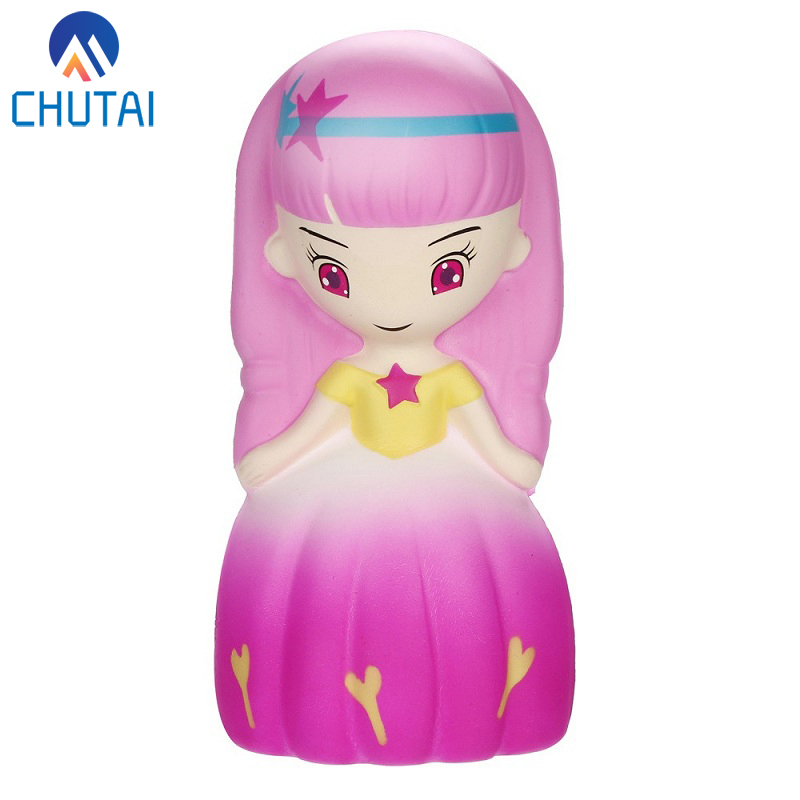 Kawaii Jumbo Squishi Wedding Girl Princess Decompression Toys Squishy Slow Rising Cream Scented Squeeze Toys 15*7*6 CM