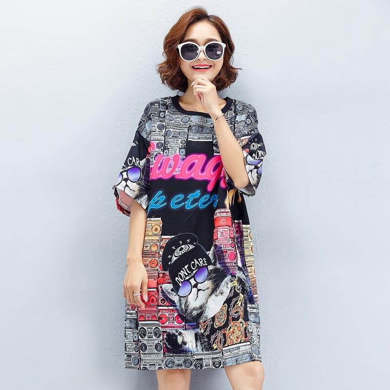 Nkandby Plus Size Clothing European Style Summer Women Fashion Loose
