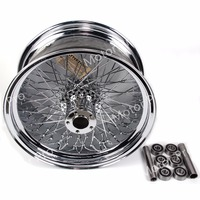 1 PCS FOR Harley Davidson XL 1200 R SPORTSTER ROADSTAR XR 1200 X Stainless Steel Motorcycle Rear Wheel Rim Chrome