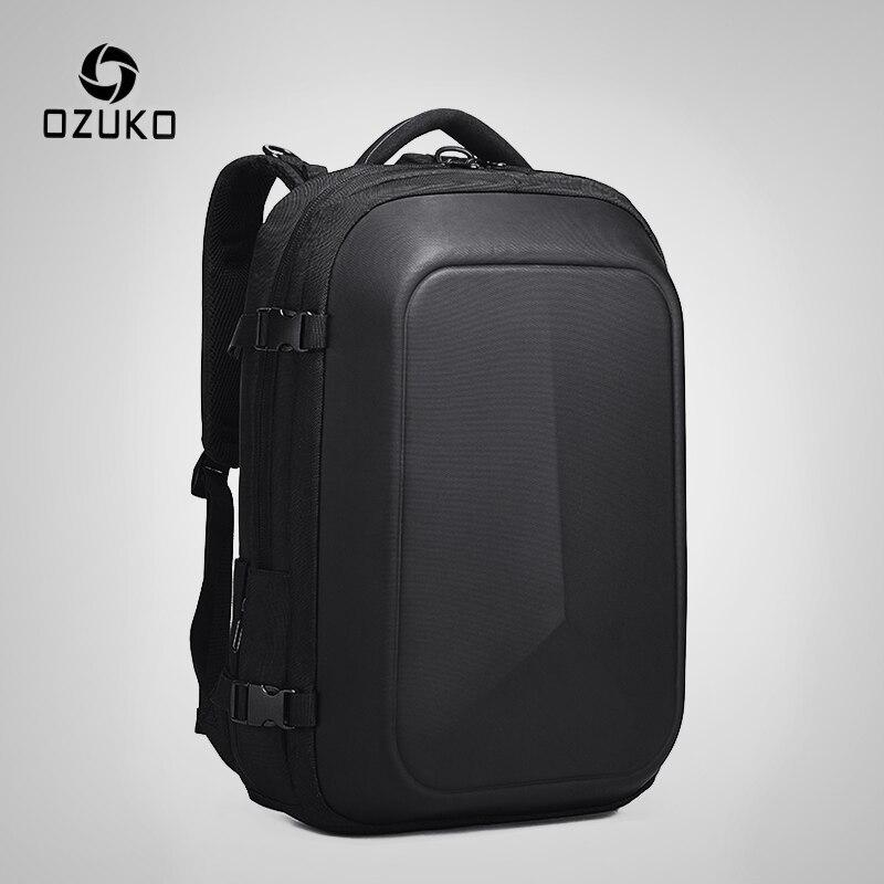 OZUKO multifonction étanche 15.6 pouces sacs à dos d'ordinateur portable homme USB charge grande capacité rucksaké mode mâle Mochila 2019 nouveau